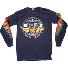 Big House Mushroom Long Sleeve Tie Dye
