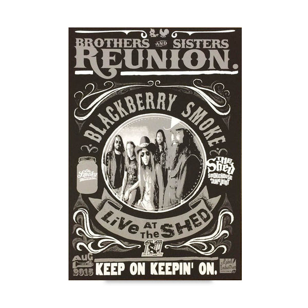 Aug01-2015- The Shed-Reunion Show Poster