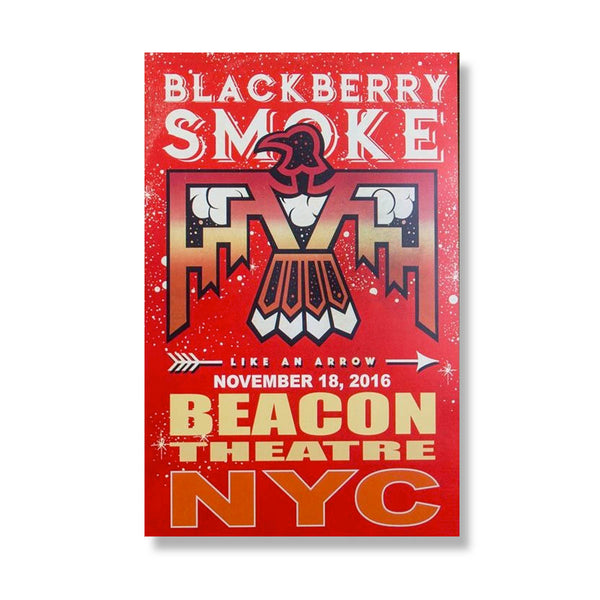 Like An Arrow Tour Poster Beacon Theatre - D13