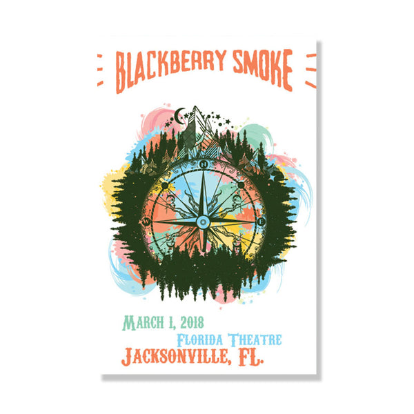 TOUR POSTER 2018 March 1st Florida Theater - D17