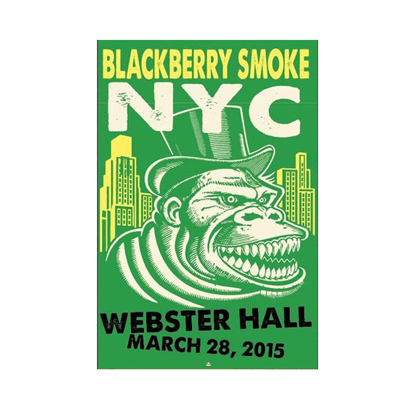 BBS Webster Hall NYC Poster 2015  - APE - D16
