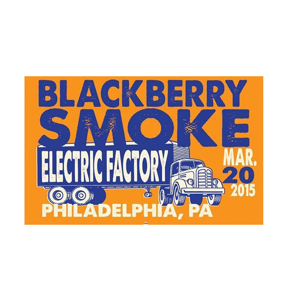 BBS Philadelphia Electric Factory Poster March 20, 2015 - D12