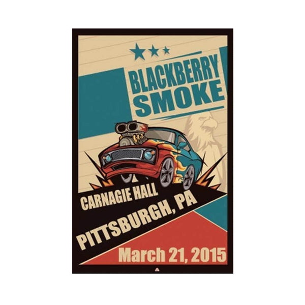 BBS Pittsburgh Carnagie Hall March 21, 2015 Poster - D17
