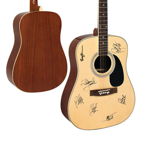 SIGNED ACOUSTIC GUITAR
