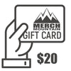 Merch Mountain Gift cards
