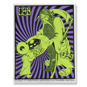 CRB Show Poster NYE 2015 SIGNED BY CR D8