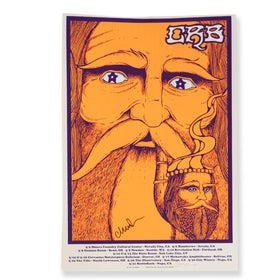CRB Show Poster Star Eyed Wizard SIGNED BY CR D9