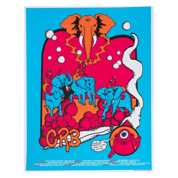 CRB Elephant Freaks Poster D5