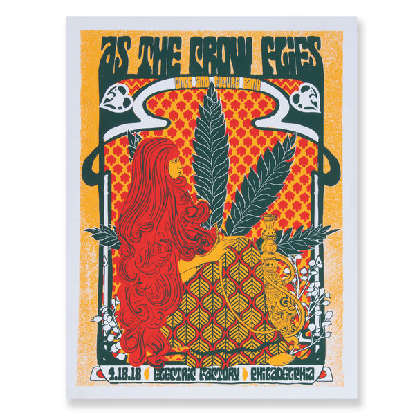 As The Crow Flies Electric Factory 2018 Poster D7