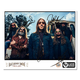 Signed Find A Light 8 x 10  Promo Photo