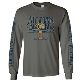 Allman Brothers Band Charcoal Long Sleeve