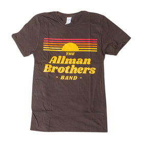 Allman Brothers Band BROWN Retro
