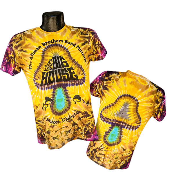 Allman Brothers Band Museum Double Mushroom Tie Dye
