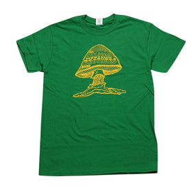 Allman Brothers Band Original Shroom Tee Green