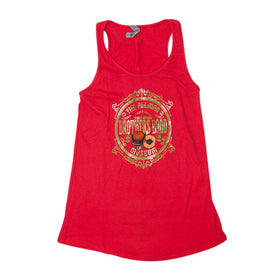 Allman Brothers Band Peach Crest Red Flowy Tank Top