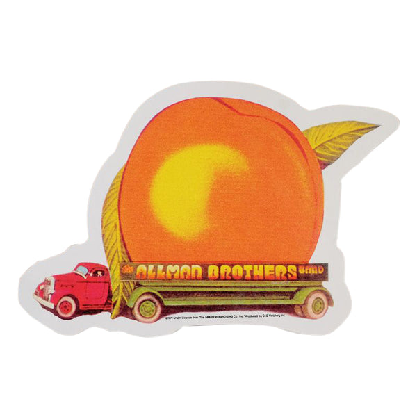 Allman Brothers Eat A Peach Sticker