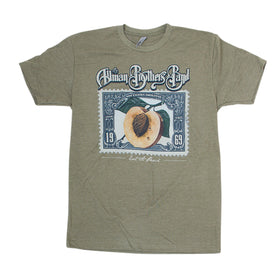 Allman Brothers Peach Stamp Tee
