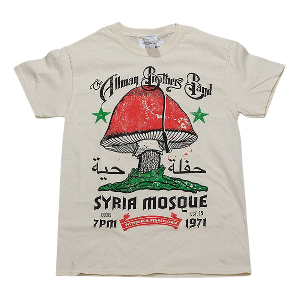 Allman Brothers Syria Mosque Tee