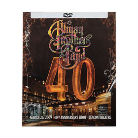 Allman Brothers/40: 40th Anniversary Show Live At The Beacon Theatre DVD