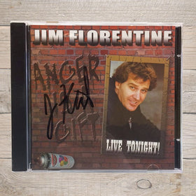 Jim Florentine Anger is a Gift CD Autographed
