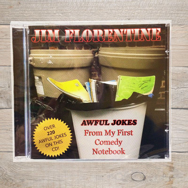 Jim Florentine Awful Jokes From My First Comedy Notebook CD