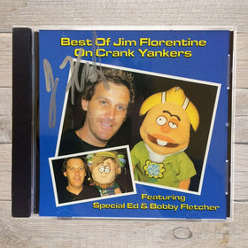 Best of Jim Florentine On Crank Yankers CD Autographed