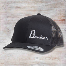 Banker Custom Guitars Side Logo Hat