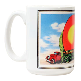 Eat A Peach Coffee Mug