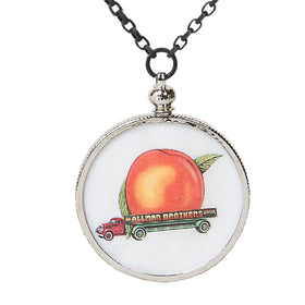 Eat A Peach Coin Edge Charm