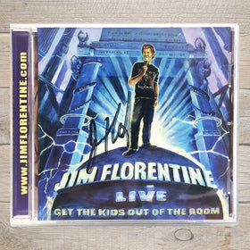 Jim Florentine Get The Kids Out Of The Room CD Autographed