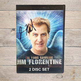 Jim Florentine I'm Your Saviour DVD Autographed