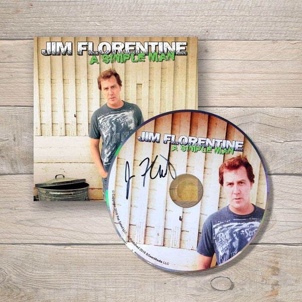 Jim Florentine A Simple Man CD Autographed