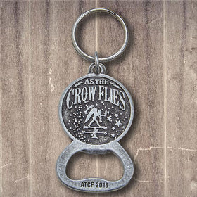 As The Crow Flies Key Chain/ Bottle Opener