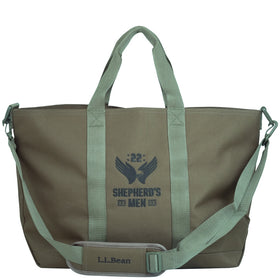 Shepherd's Men Hunter's Tote Bag, Zip-Top with Shoulder Strap