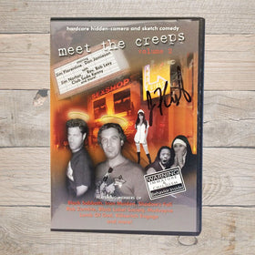 Jim Florentine Meet The Creeps 2 DVD Autographed