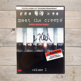 Jim Florentine Meet The Creeps DVD Autographed
