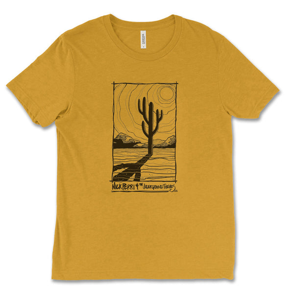 Nick Perri & The Underground Thieves Men's Cactus Tee