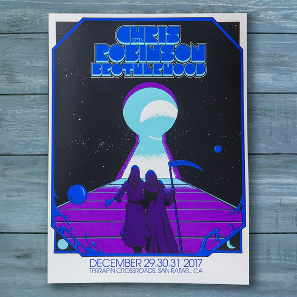 CRB Show Poster Terrapin NYE 2017 - D4
