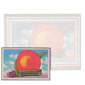 Original Eat a Peach Iron on Transfer