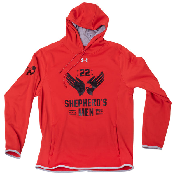 Shepherd's Men UA Armour Fleece Men's Hoodie Red