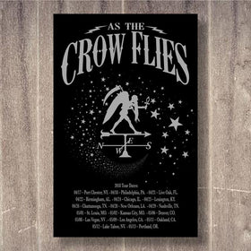 As The Crow Flies 2018 Tour Poster D 11