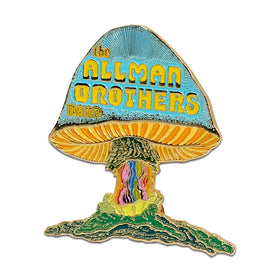 Allman Brothers Band SHROOM Die Cast Enamel Pin