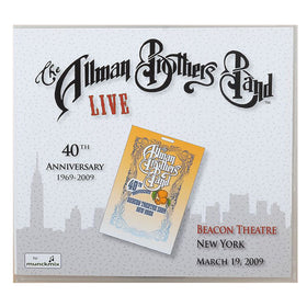 The Allman Brothers 40th Beacon NYC March 19 2009 CD