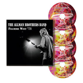 The Allman Brothers Band Fillmore West '71 4 CD Set