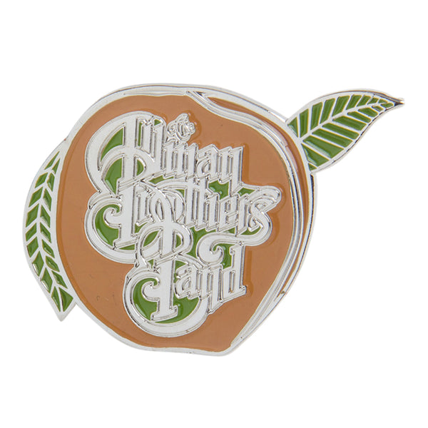 The Allman Brothers Band Peach Die Cast Enamel Pin