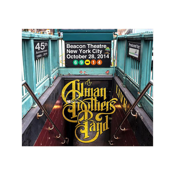 The Allman Brothers Band ‎– Beacon Theater 10-28-2014 (4 CD Set)