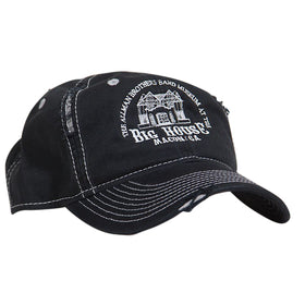 The Big House Hat Distressed Black