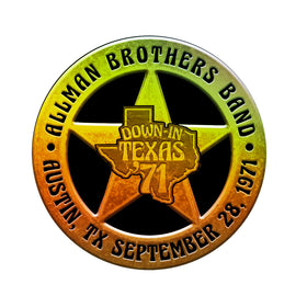 Allman Brothers Band Down In Texas 71 Sticker