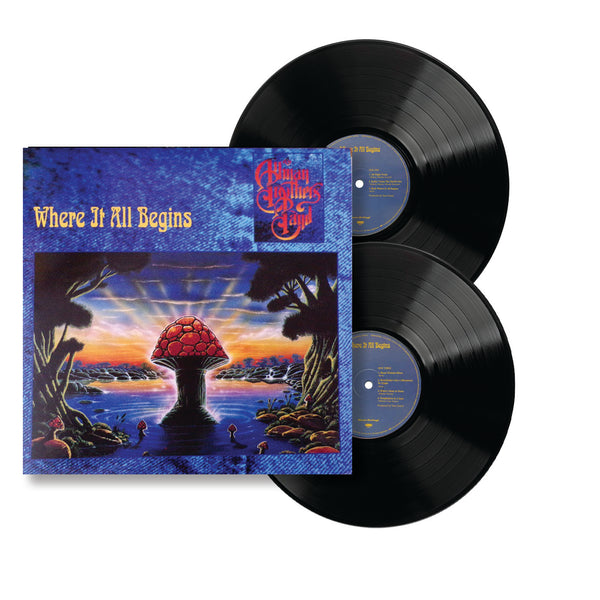 ALLMAN BROTHERS BAND: WHERE IT ALL BEGINS MUSIC On Vinyl Version