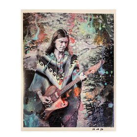 NICK PERRI 'PSYCHEDELIC' – LIMITED EDITION AUTOGRAPHED AND NUMBERED PHOTO PRINT